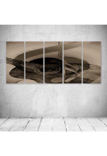 Quadro Decorativo - Music369 - Composto De 5 Quadros