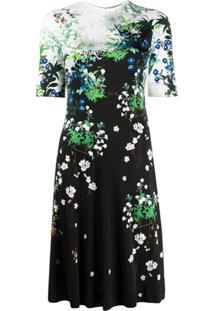 Givenchy Vestido Com Estampa Floral - Preto