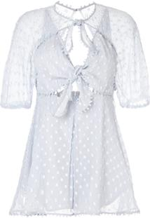 Alice Mccall Moon Talking Playsuit - Azul