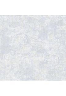 Papel De Parede Castelani Abstrato- Azul Claro & Off Whiedantex