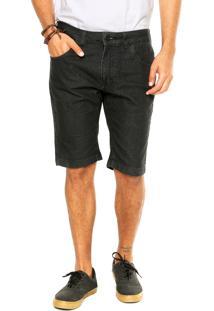 Bermuda Jeans Rusty Stomp Preta