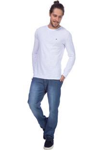 Camiseta Slim Bordada