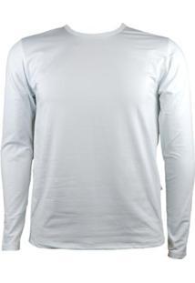 Camisa Térmica Masculina Segunda Pele Thermo Premium - Masculino-Branco