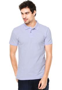 Camisa Polo Malwee Slim Roxo