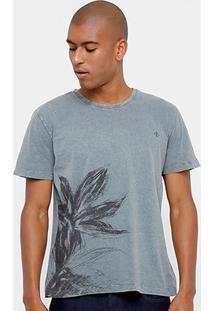 Camiseta Forum Tinturada Flor Masculina - Masculino