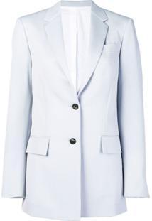 Calvin Klein 205W39Nyc Blazer Reto Com Bolsos - Azul