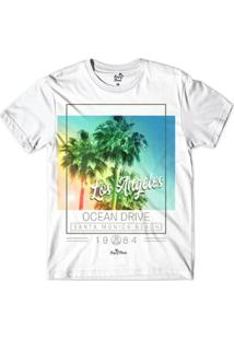Camiseta Long Beach Santa Monica 1984 Sublimada Masculina - Masculino