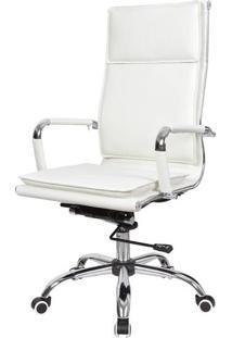 Cadeira Office Eames Com Encosto Alto Base Rodizios - 37299 - Sun House