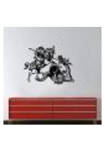 Adesivo De Parede Escoteiro E Dragão - M 65X50Cm