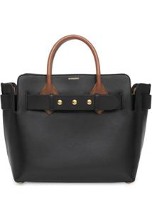 Burberry Pochete The Small De Couro Com Tachas - Preto