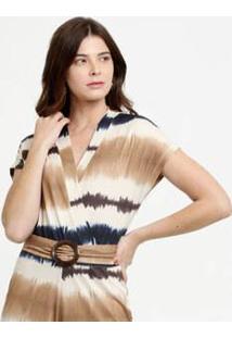 Body Feminino Transpassado Estampa Tie Dye Marisa