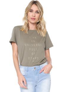 Camiseta Forum Universe Verde