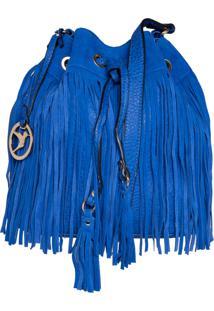 Bolsa Isabella Piu Saco Tiracolo Azul