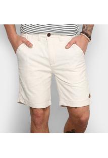 Bermuda Redley Réveillon Masculina - Masculino-Off White
