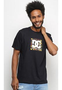 Camiseta Dc Shoes Basic Square Star 2 Masculina - Masculino