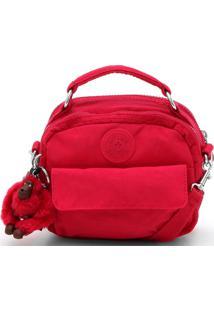 Bolsa Kipling Logo Vermelha
