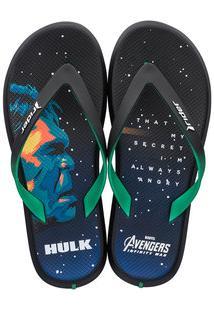Chinelo Masculino Os Vingadores Hulk Rider 11342