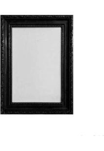 Porta Retrato 13X18Cm Queem Preto Brilhante Infinity