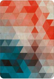 Tapete De Sala Wevans Colors Azul/Vermelho