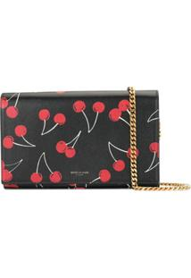 Yves Saint Laurent Pre-Owned Pre-Owned Wallet On Chain Bag - Preto