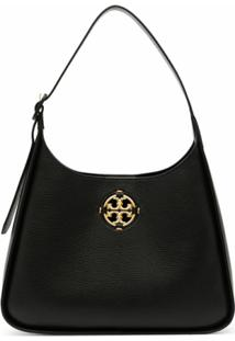 Tory Burch Medium Miller Shoulder Bag - Preto