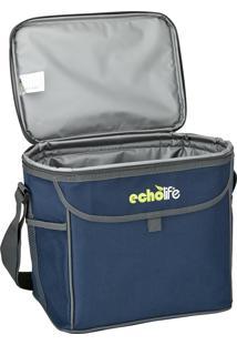 Bolsa Térmica Blue 5 Litros Com Alça Ajustável - Echolife