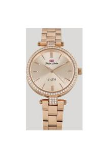 Relógio Analógico Philiph London Feminino - Pl81009113F Rosê