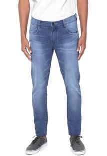 Calça Jeans Hd Skinny Desgastes Azul