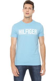 Camiseta Tommy Hilfiger Box Azul