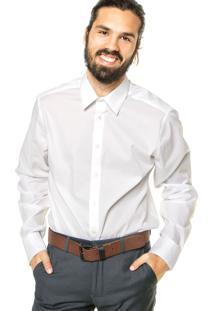 Camisa Calvin Klein White Label Branca