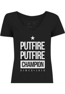Camiseta Zé Carretilha Fogao Putfire Feminina - Feminino