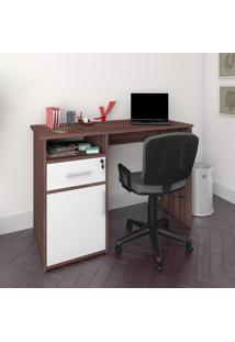 Mesa Escrivaninha Artany Hall Home Office 1 Gaveta 1 Porta