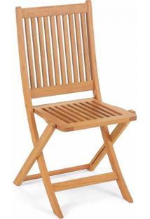 Cadeira Dobrável Nice Natural