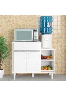 Armário De Cozinha Montauri 1 Gaveta 2 Portas 3492 Branco Bp - Politorno
