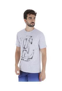 Camiseta Fatal Estampada 22139 - Masculina - Cinza Claro