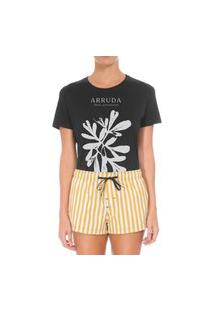 Camiseta Forseti Confort Arruda Preto