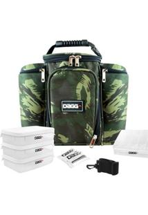 Bolsa Térmica Fitness Camuflada - Unissex-Verde Militar
