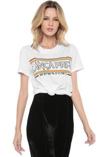 Camiseta Lança Perfume Estampada Branca - Kanui