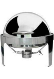 Cdlr9 Rechaud Chafing Dish Luxo Redondo 9 Litros Orcil