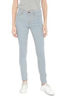Calça Jeans Calvin Klein Jeans Skinny Pespontos Azul