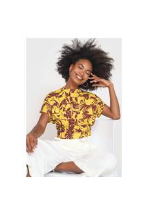 Camiseta Forum Canelada Amarela