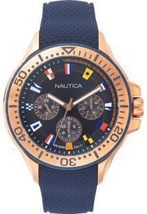 c8fbb0984c3 ... Relógio Nautica Masculino Borracha Azul - Napauc008 Vivara