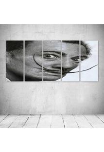Quadro Decorativo - Salvador Dali - Composto De 5 Quadros
