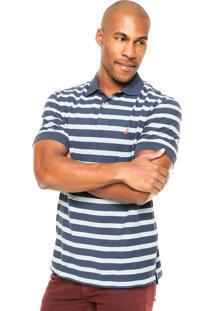 Camisa Polo Nautica Classic Fit Azul