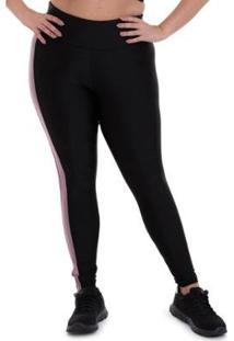 Calça Legging Plus Size Mood Cajubrasil Feminina - Feminino