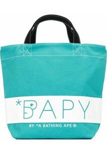 Bapy By *A Bathing Ape® Bolsa Tote Com Estampa - Verde