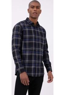 Camisa Comfort Xadrez Em Flanela