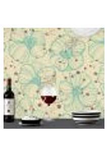 Papel De Parede Autocolante Rolo 0,58 X 5M Floral 213638998
