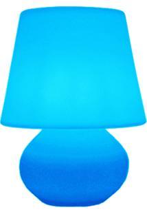 Luminária Casa Da Mãe Joana Abajur Azul