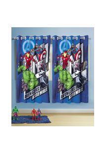 Cortina Infantil Avengers Lepper
